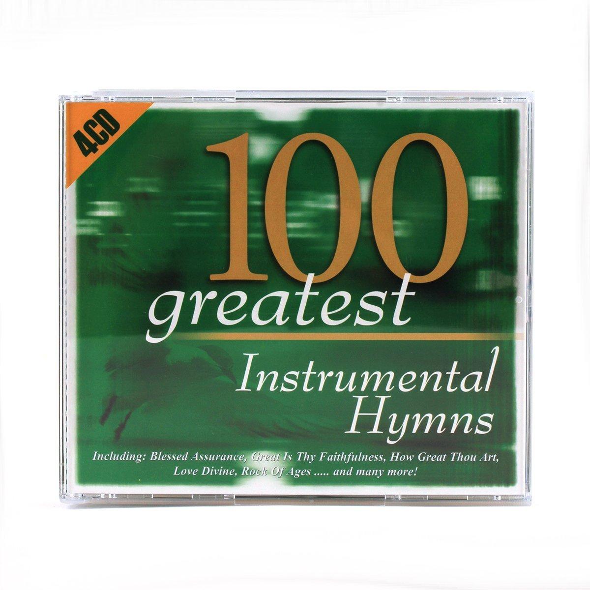 100 Greatest Instrumental Hymns 4CD - Various Artists