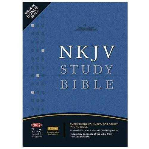 NKJV Study Bible Second Edition Thumb Indexed -